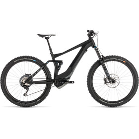 Cube Stereo Hybrid 140 SL 500 E-MTB fullsuspension sort